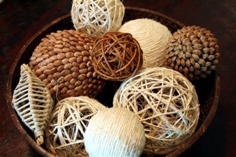 Decorative Orbs Wood Metal Ball Rustic Home Decor Spheres: Fragrant Autumn Decoration Ideas