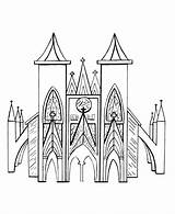 Medieval Coloring Churches Church Buttress Sheets Flying Pages Drawing Outline Activity Printable Cathedral Gothic Architecture Colouring Bluebonkers England Fantasy Europe sketch template
