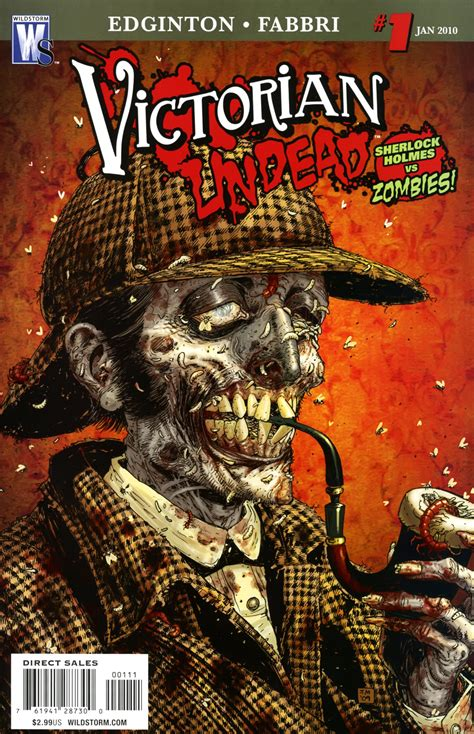 victorian undead zombie comics vol comic wikia dc holmes zombies sherlock living vs marvel dead source night january