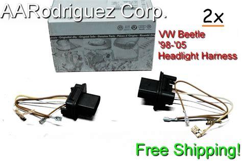 Pack Volkswagen New Beetle Headlight Wiring