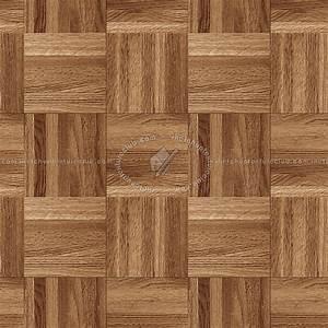 Wood flooring square texture seamless 05422 for Square parquet flooring