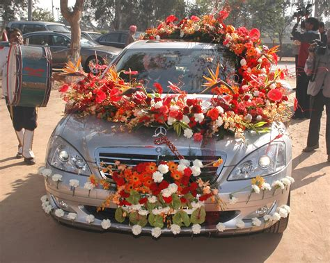 Car Decorations - hari chand florist car decoration