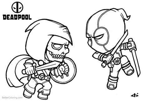 Amazing Deadpool Para Colorear Adpool Para A Internet Gadgets