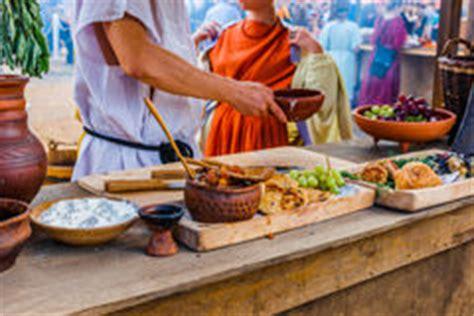 cuisine romaine antique nourriture romaine de l 39 empire photo stock image 48645554
