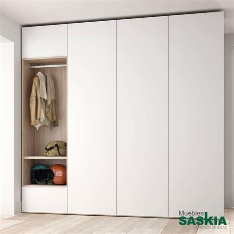 armario moderno nordicoblanco  puertas batientes