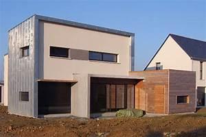 philippe prevost architecte de maisons traditionnelles With maison brique et bois