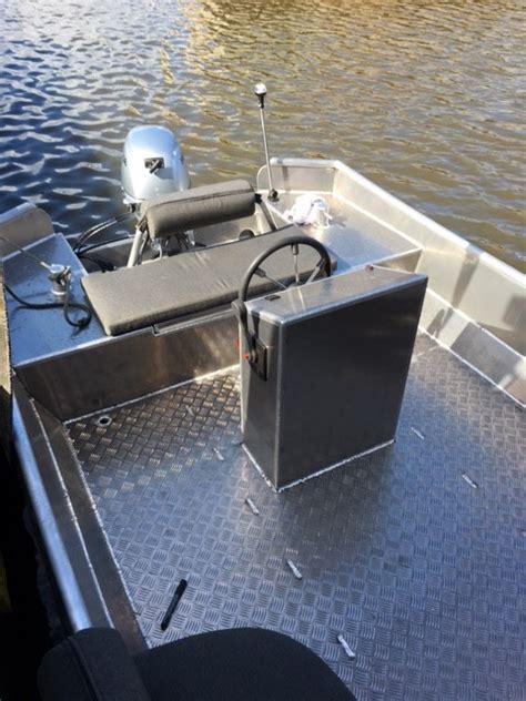 Aluminium Boot Zout Water by Westlandboating Nl