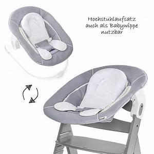 Hauck Beta Plus Newborn Set : hauck alpha hochstuhl 4 tlg newborn set baby hochstuhl ab geburt nutzbar grau ebay ~ Watch28wear.com Haus und Dekorationen