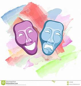 Theatre Comedy And Tragedy Masks Royalty Free Stock Photos ...