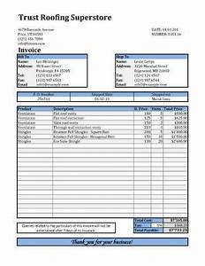 business invoice for roofing joy studio design gallery With itemized roofing invoice