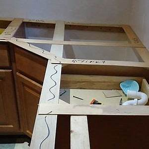 making a template custom floating shelves With template for granite countertops