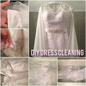 post wedding how to clean your dress without paying a With how to clean your wedding dress