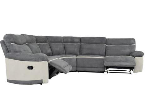 canape d angle relaxation canapé d 39 angle symétrique relax microfibre antoine gris