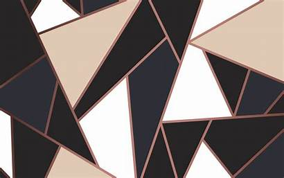 Rose Gold Background Modern Cream Mosaic Vector