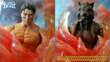 roman centurion werewolf altered beast custom action