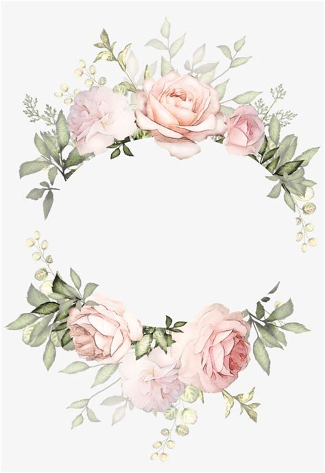 Download Transparent H746a Flower Frame Arte Floral