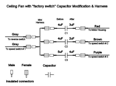 ceiling fan capacitor wiring diagram ceiling fan wiring diagram get free image about