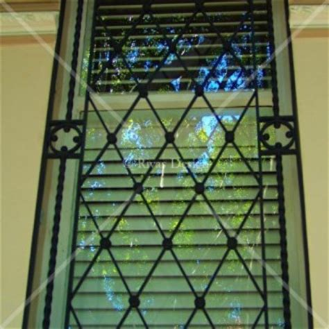 decorative security grilles for windows wrought iron window grills rivas design