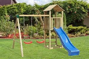 Schaukel Und Rutsche Garten : spielturm kletterturm mit schaukel und rutsche 280x320cm garten spielger t holz ebay ~ Bigdaddyawards.com Haus und Dekorationen