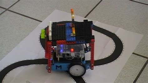 Then arduino drives the motor according to sensors' output. mBot line follower - YouTube