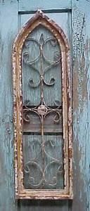 Rustic Architectural Wall Garden Window