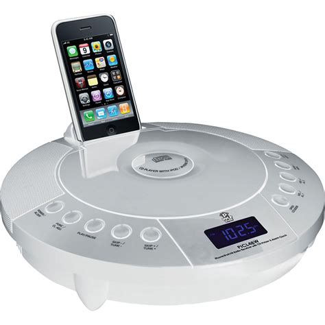 fm radio iphone pyle home iphone ipod fm radio receiver with cd player picl48w