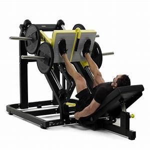 Pure Strength Linear Plate Loaded Leg Press | Technogym