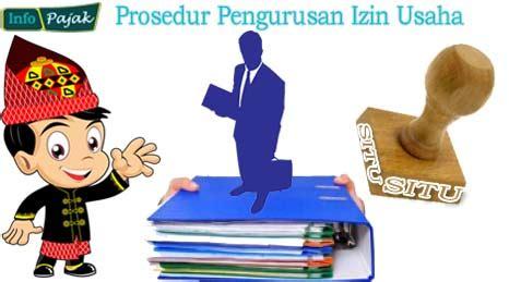 prosedur pengurusan izin usaha   membuat surat izin