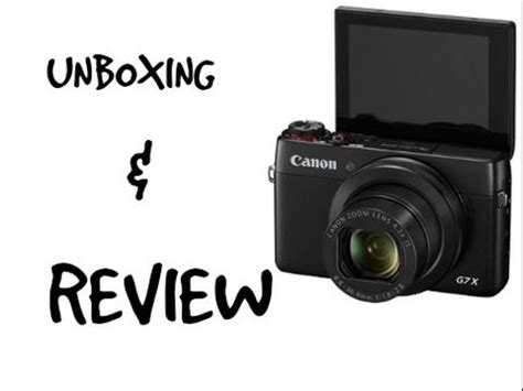 """Unboxing My New Vlog Camera """" Canon G7x"""" + Mini Review"""