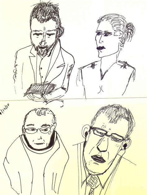 Gregg Fraley, Creativity & Innovation  Four Faces Drawing
