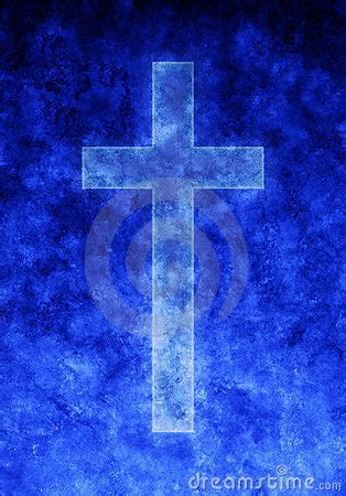 blue background religion cross royalty  stock