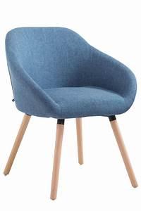 Chaise Scandinave Accoudoir : chaise visiteur hamburg en tissu bois avec un design scandinave avec accoudoir ebay ~ Teatrodelosmanantiales.com Idées de Décoration