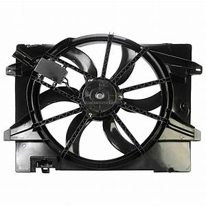 2007 Mercury Grand Marquis Cooling Fan Assembly Radiator