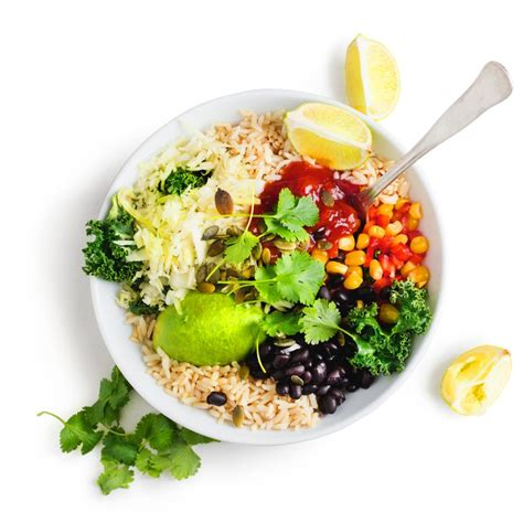 tex mex bowl  avocado  chunky salsa recipe blue zones