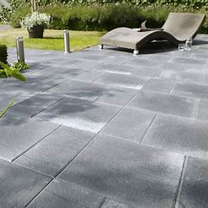 Dalle De Jardin Beton : dalle beton terrasse ma terrasse ~ Melissatoandfro.com Idées de Décoration