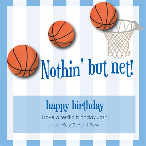 images  basketball happy birthday card printable