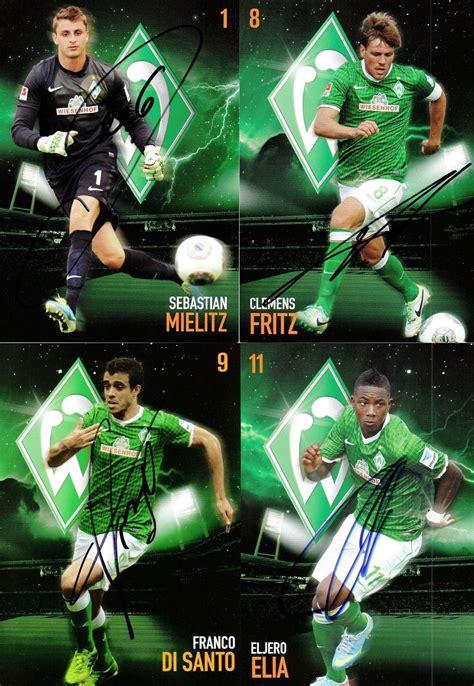 Werder bremen brought to you by Football Cartophilic Info Exchange: Werder Bremen - Werder ...