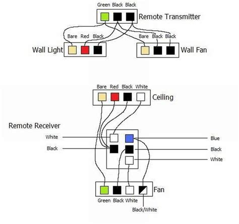 hampton bay  speed ceiling fan switch wiring diagram