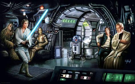 Luke Feels the Force by Claudio Aboy | Star Wars – Dark Ink