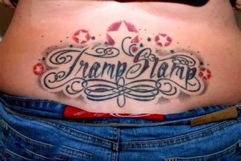 tramp stamp tattoos