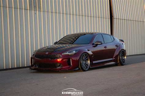 Kia Kits by Ark Performance Legato Wide Fender Kit Kia