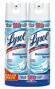 Amazon.com: Lysol Disinfectant Spray, Crisp Linen, 38oz