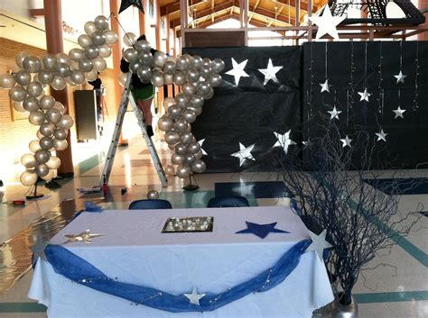 stars dance decorations event decor