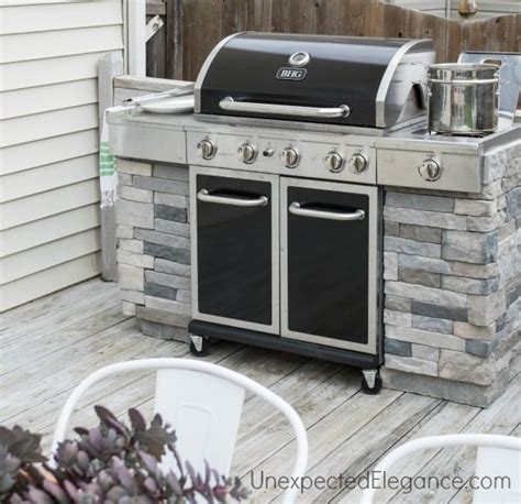 how to build outdoor kitchen island diy outdoor kitchens and grilling stations the garden glove 8520