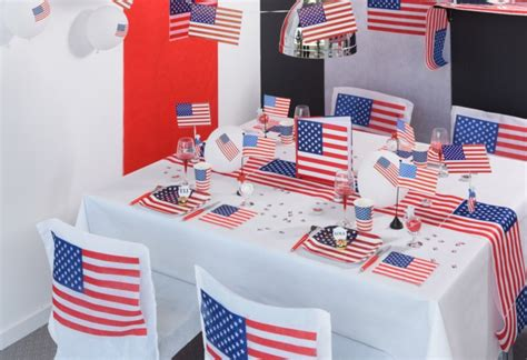 decoration anniversaire theme americain d 233 coration sur le th 232 me usa articles de f 234 te