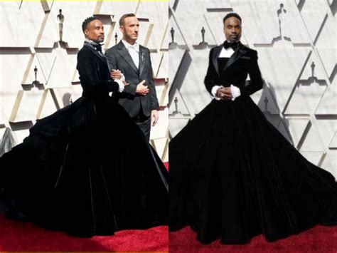Billy Porter Sparks Controversy With Outfit Oscar