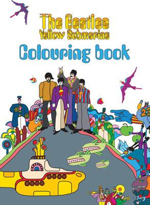 yellow submarine coloring book   beatles