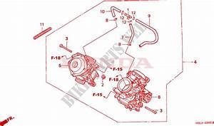 Carburetor  Assy   For Honda Deauville 650 2004   Honda