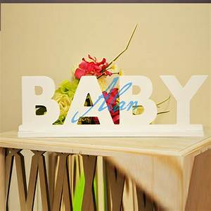 Online get cheap wooden letters nursery aliexpresscom for Where to buy wall letters for nursery