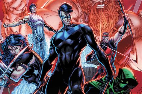Dc Is Launching A Streaming Service With A Gaggle Of